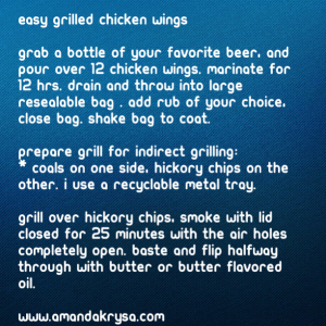 amandas essentials, grill