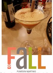 pumpkin martini, fall, amanda krysa, amandas fight