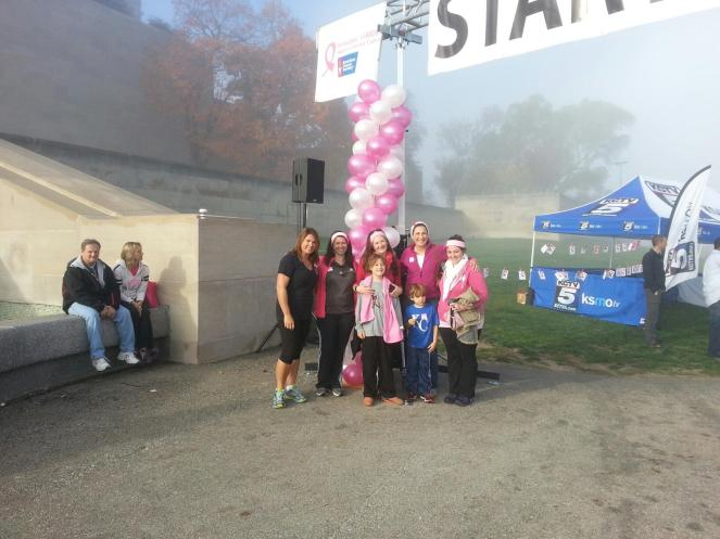 makingstrides2014, amandasfight