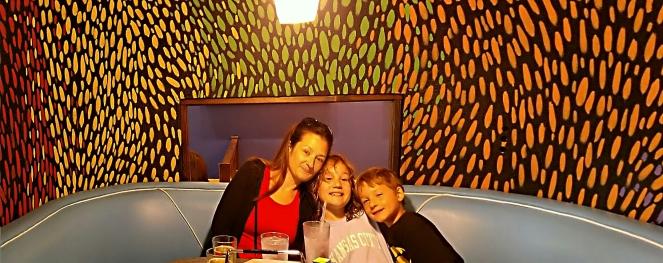The boys favorite restaurant!
